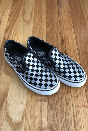 Kid's Vans Checkerboard Slip-on Sneakers for Sale in Livonia, MI