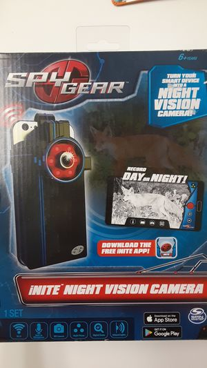 Spy gear turn your device into a inite night vision camera for Sale in Parma, OH