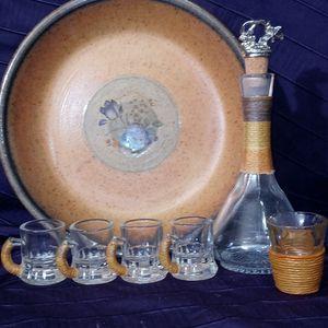 Antique Mini liquor set for Sale in Dallas, TX