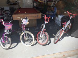 Used Kids Bikes $40 each for Sale in Atlanta, GA