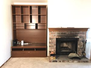 Modern entertainment center with shelve and drawers for Sale in Issaquah, WA