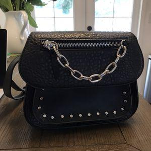 BCBG Black Crossbody Leather Purse for Sale in Olympia, WA