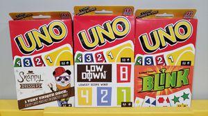 Uno 2 in 1 games for Sale in Norwalk, CA