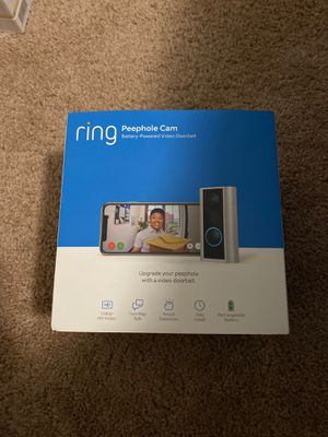 Ring Peephole Cam for Sale in Garner, NC