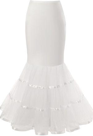 Womens 3 Layers Floor Length Trumpet Mermaid Wedding Dress Petticoat for Sale in Pembroke Park, FL