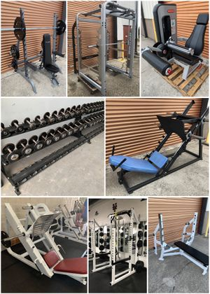 Davenport Fitness Equipment- Smith Machines, Olympic Squat Racks, Leg Press, Dumbbells, Weight Benches Plates for Sale in Davenport, FL