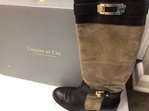 Louise et Cie two tone suede and leather boots size 8.5 for Sale in Smyrna, GA