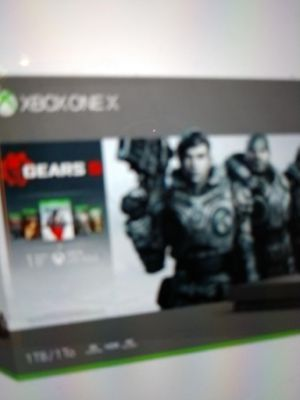 Xbox one x gears bundle for Sale in Yardley, PA