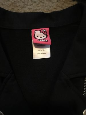 Girls Hello Kitty Jacket Size 14/16 for Sale in Houston, TX