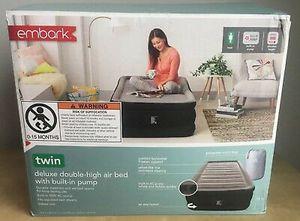 Twin air mattress high embark for Sale in Covina, CA