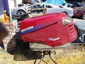 Craftsman dgt 6000 riding mower engine cowl for Sale in Visalia, CA