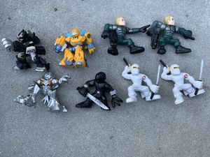 Transformers and G.I. Joe hasbro playskool heroes toy action figures for Sale in Camp Hill, PA