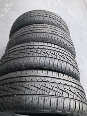 4 Tires 225/60/18 for Sale in Montgomery, IL