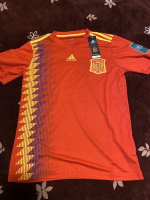 Spain Soccer Jersey for Sale in Sacramento, CA