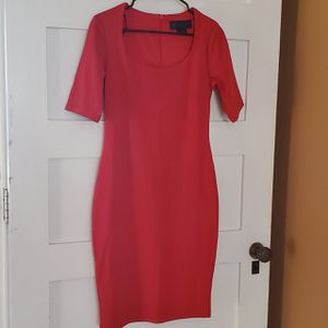 Red Knee Length Dress by Kardashian Kollection size L for Sale in Woburn, MA