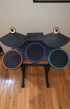Guitar Hero/Rock Band drums PS2/PS3/PS4 for Sale in Genoa City, WI