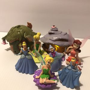 Various Disney Cake Toppers and Toys for Sale in Henderson, NV