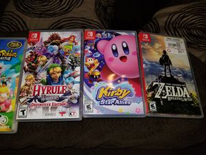 Nintendo switch games for sale . for Sale in San Diego, CA
