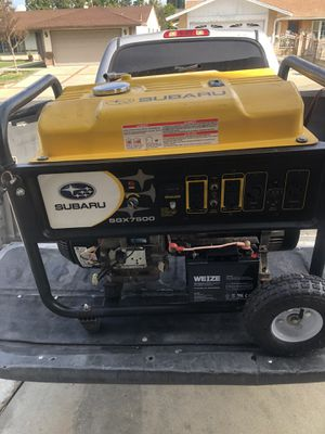 Ready to work 7500 Watts Generator for Sale in West Covina, CA