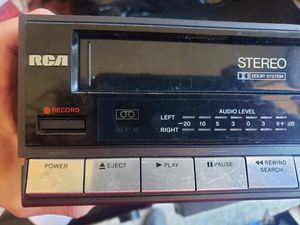 RCA VCR VPT395 with remote video cassette recorder for Sale in Beaverton, OR