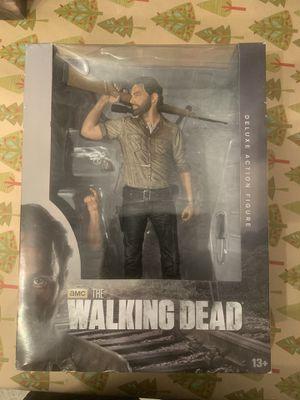 "The Walking Dead TV 10"" Rick Grimes Deluxe Figure for Sale in Santa Fe Springs, CA"