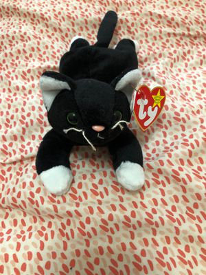 Beanie Baby 1994 Zip The Cat Authentic for Sale in Valrico, FL