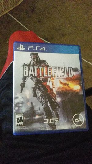 Battle Field 4 Ps4 for Sale in Vancouver, WA