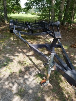 EAGLE LARGE DUAL AXLE BOAT TRAILER 22 FT. GREAT FOR BOAT OR CONVERT TO A UTILITY TRAILER $800. or BEST OFFER THIS WEEKEND! for Sale in Glen Allen, VA