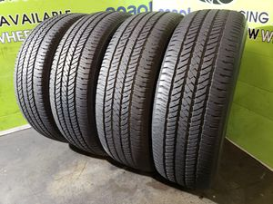 Four 255/70/18 BRIDGESTONE DUELER H/T 684II, FREE MOUNT AND BALANCE!! for Sale in Tampa, FL