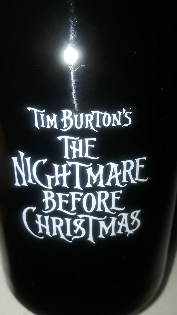 Nightmare before xmas mug