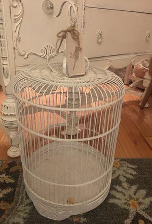 Large antique bird deco birdcage for Sale in Arlington, VA