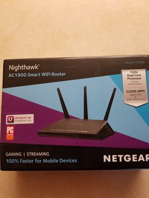 Nighthawk AC1900 WIFI Router for Sale in West Palm Beach, FL