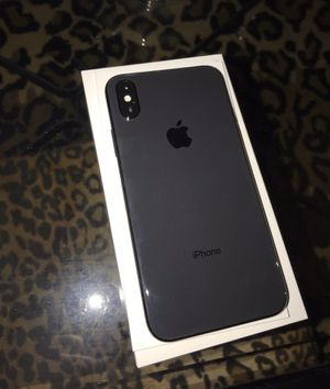 Unlocked iPhone X 256gb Space Gray for Sale in Pawtucket, RI