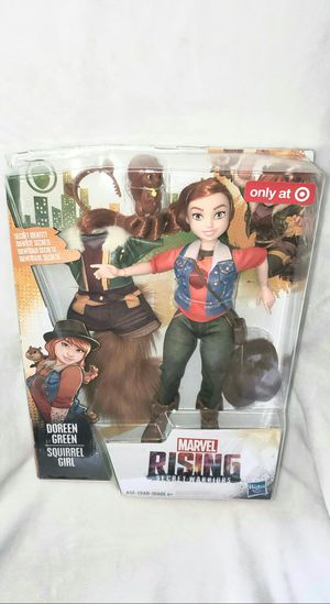 MARVEL SQUIRREL GIRL DELUXE TARGET EXCUSIVE DOLL for Sale in Las Vegas, NV