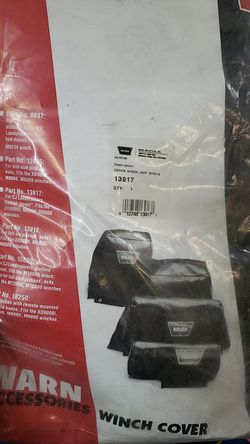 Warn winch cover only for Sale in Vancouver,  WA