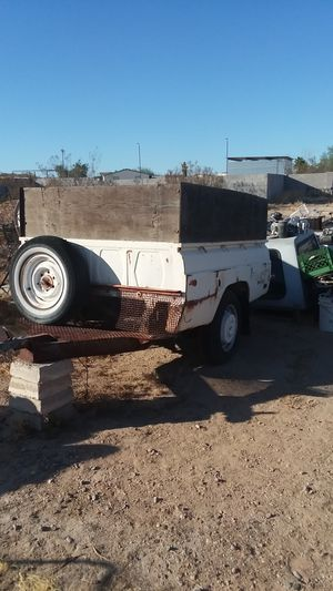 Utility bed pickup trailer for Sale in Casa Grande, AZ