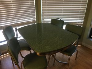 Formica table and chair set. for Sale in Mesa, AZ