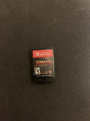 Jumanji: The Video Game Nintendo Switch for Sale in Compton, CA