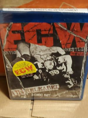 bluray ecw unreleased volume 1 wwe blu ray brand new for Sale in Los Angeles, CA