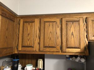 Oak kitchen cabinets with appliances for Sale in Vancouver, WA