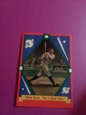 "Babe Ruth ""The Called Shot"" for Sale in Marietta, GA"