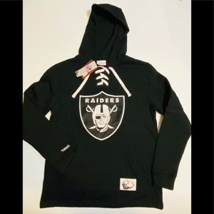 Cheaper than Ebay Size Large new with tags . Stitched .Raiders Authentic Mitchell and Ness Hoodie for Sale in San Diego, CA