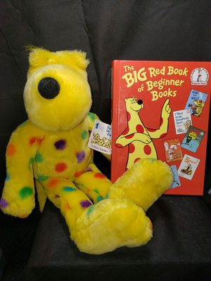 Plush put me in the zoo with a big red book of beginner books for Sale in Zanesville, OH