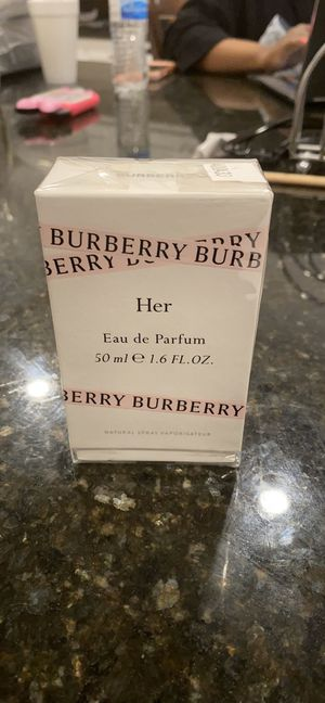 Burberry Her Fragrance sealed for Sale in Rancho Cucamonga, CA