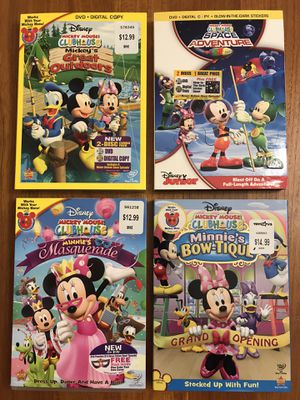 Kids DVDs - Disney Mickey Mouse Clubhouse & More for Sale in Bellevue, WA