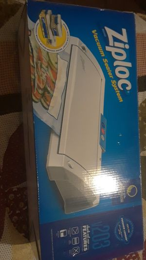 Ziploc vacuum sealer system for Sale in Fort Worth, TX