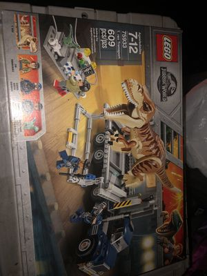 Lego Jurassic world 75933 T. rex break out brand new sealed in box for Sale in Tarpon Springs, FL