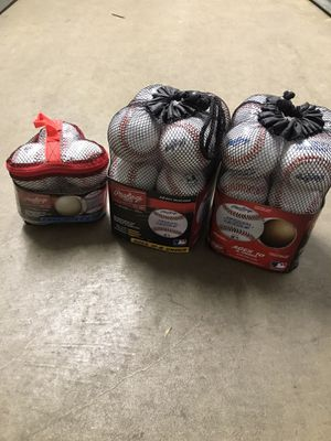 Rawlings baseball & T-ball Coaches/Rec bundle!!! for Sale in Cleveland, OH