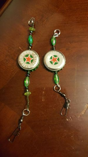 PERSONALIZED BEAD OR BOTTLE CAP FISHING LURES for Sale in Philadelphia, PA