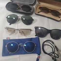 Vintage Sunglasses Collection - 6 Pairs - Includes Oscar DE LA Renta, Eddie Bauer, Pepsi, Dazzle for Sale in Normandy Park,  WA